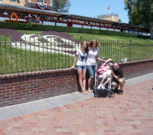 Family travel to Disneyland with a special needs kid