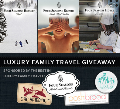 Four Seasons Luxury Family Vacation Giveaway