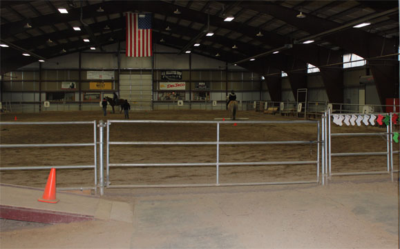 Indoor arena for NAC Equestrian Program