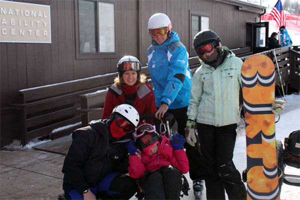 Last day adaptive ski - National Ability Center Park City Mountain Resort