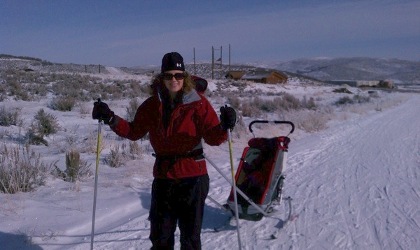 Cross country ski at national Ability Center Park City Utah