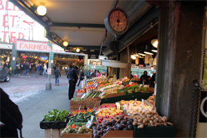 Seattle Pike Place Market - accessible travel in Seattle