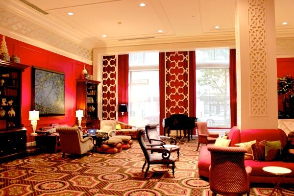 Lobby at Hotel Monaco Portland