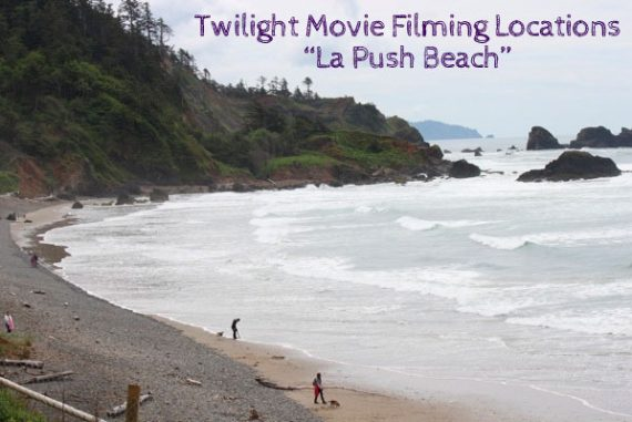 Twilight movie filming locations La Push beach
