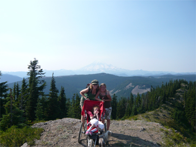 Accessible Hiking at White Pass?  Kind of.