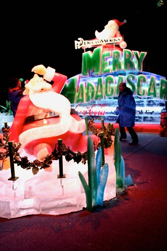 Sledding in Texas?  The Gaylord Texan Presents ICE! Christmas Experience