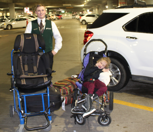 Getting Treated Like a VIP – Flying Solo with My Special Needs Child