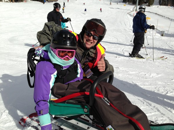 Special Needs adaptive ski at Sun Peaks Resort in British Columbia