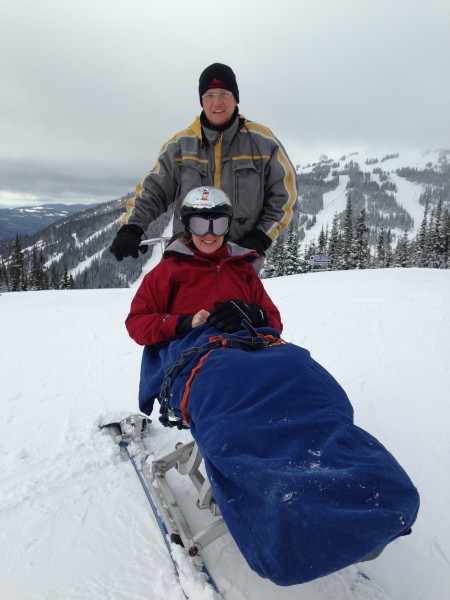 snow limo adaptive skiing sun peaks resort british columbia bc