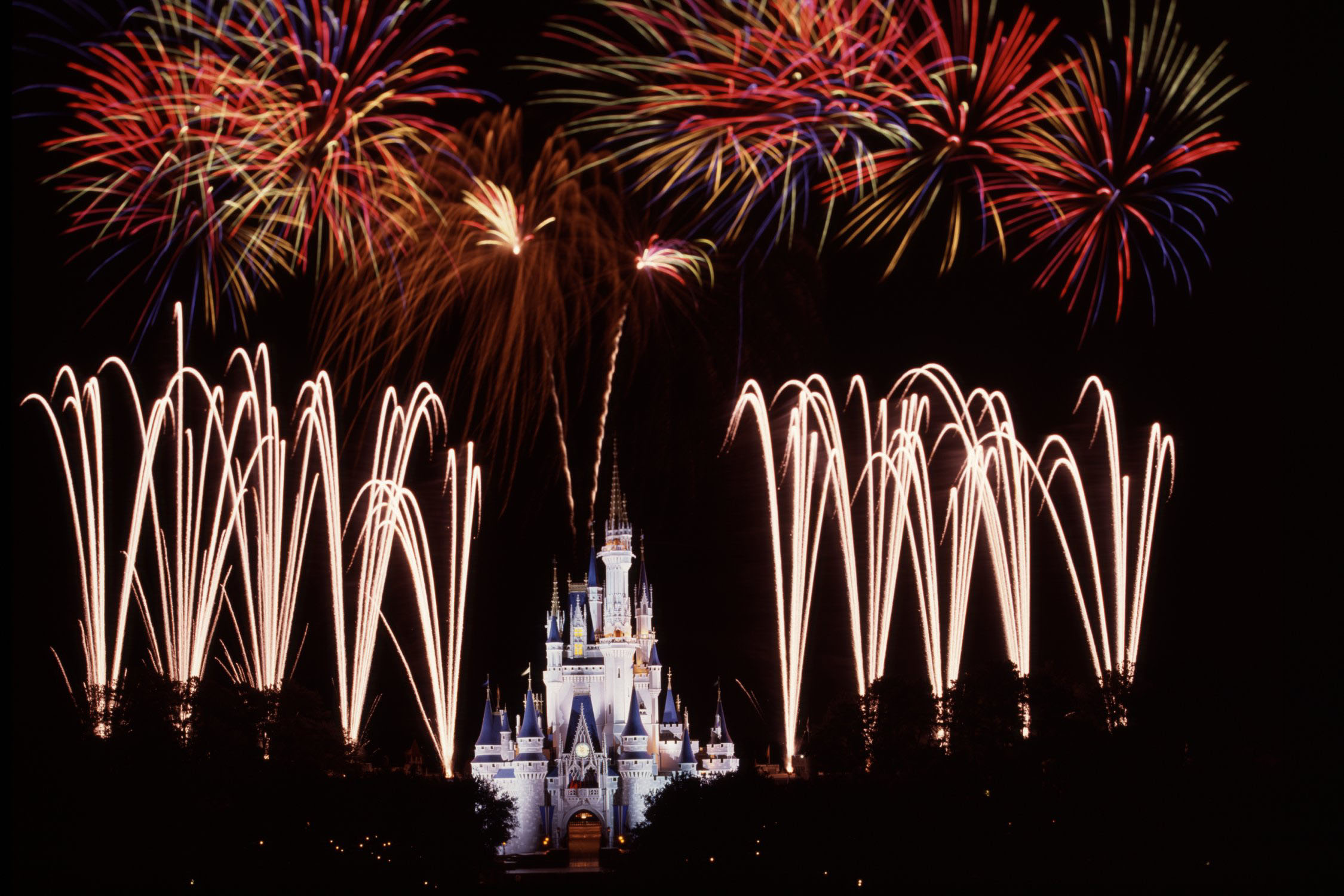 best place to watch the disney world wishes fireworks