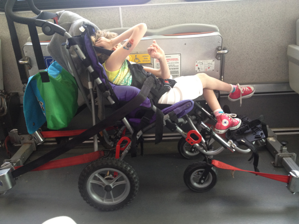disney world shuttle - wheelchair accessibility