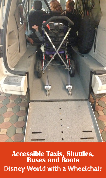 getting around - wheelchair accessibility at disney world