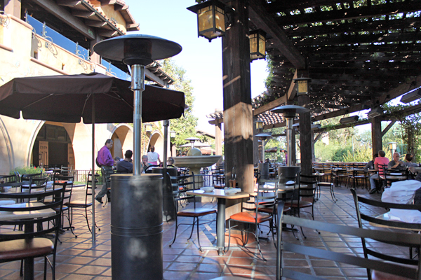 Wine Country Trattoria at Disney California Adventure : Delicious, Relaxing, Kid-Friendly and Gluten-Free