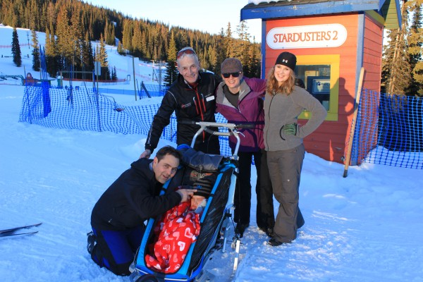 Cross Country Skiing with Special Needs at Silver Star Mountain Resort, BC