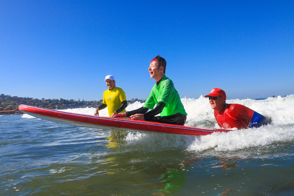 San Diego accessible surf lessons - Surf Diva