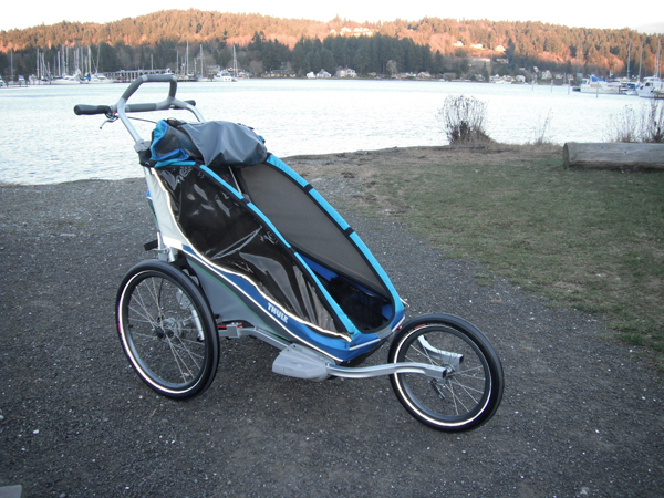 Thule Chariot CX1 jogging stroller review