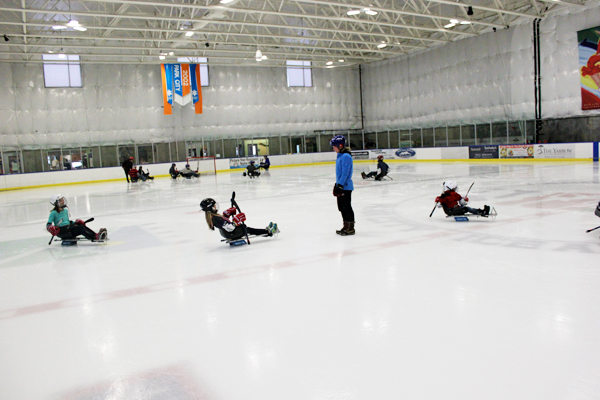 sled hockey national ability center paralympics