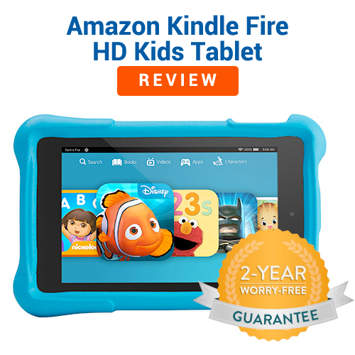 Amazon Kindle HD Kids Tablet Review