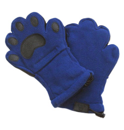 bear paw gloves - ultimate ski vacation packing list