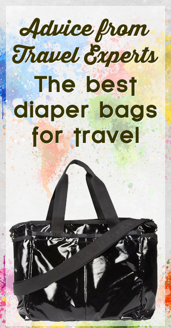 the best diaper bags for travel