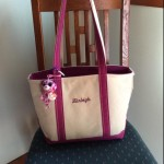 the best diaper bag - LLBean canvas tote