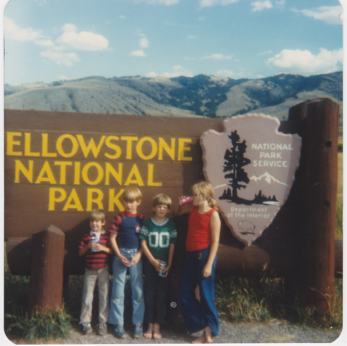 yellowstone family travel memories