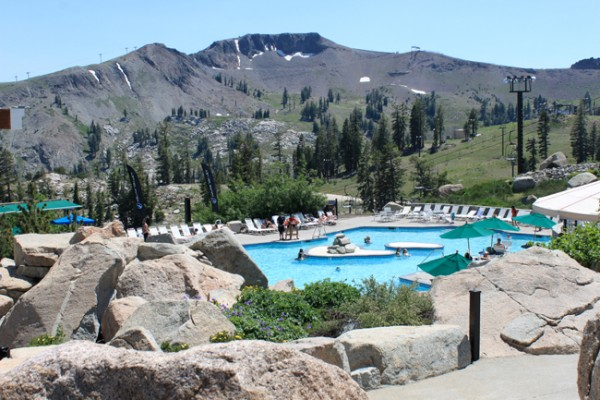 Accessible hiking in squaw valley at lake tahoe - High camp swimming pool squaw valley ...