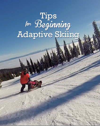 tips for adaptive skiing
