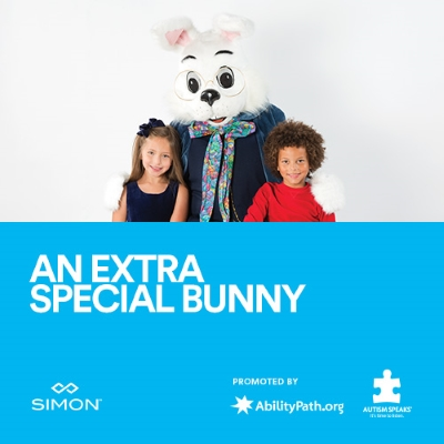 pictures with the Easter Bunny for special needs kids