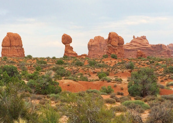 Arches National Park with a wheelchair and special needs