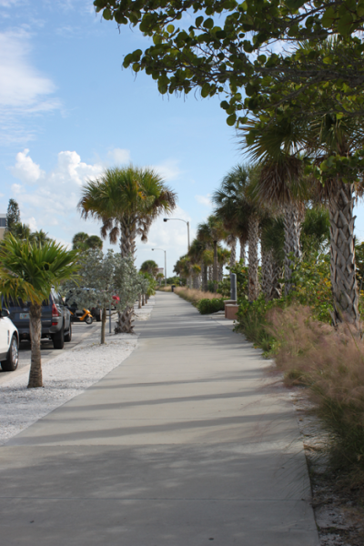 The boardwalk from Lido Beach Resort to St. Armands