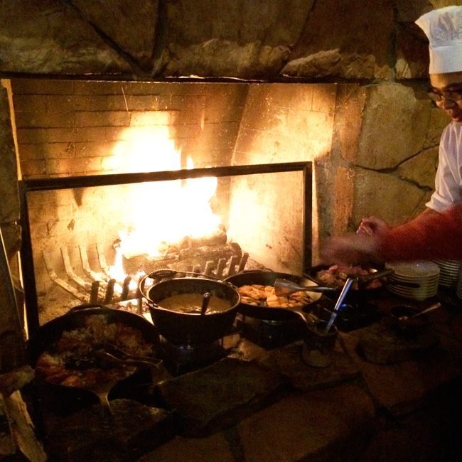 Deer Valley Ski Resort Fireside Dining