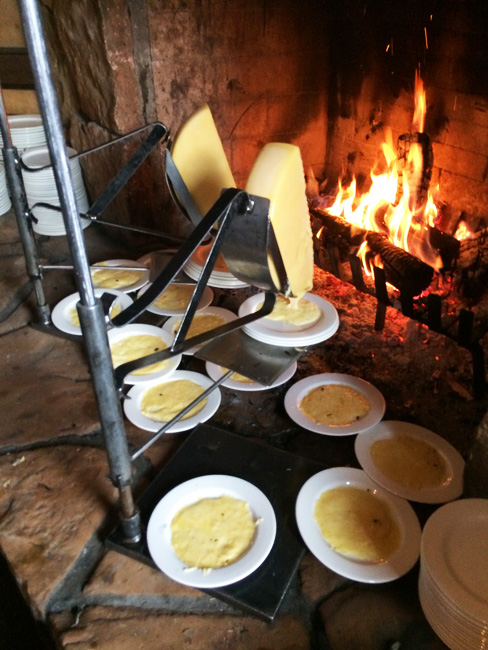 Deer Valley fireside dining
