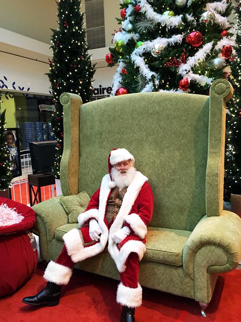 caring santa - photos with santa