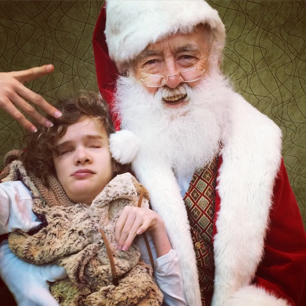 Caring Santa - Santa photos with special needs