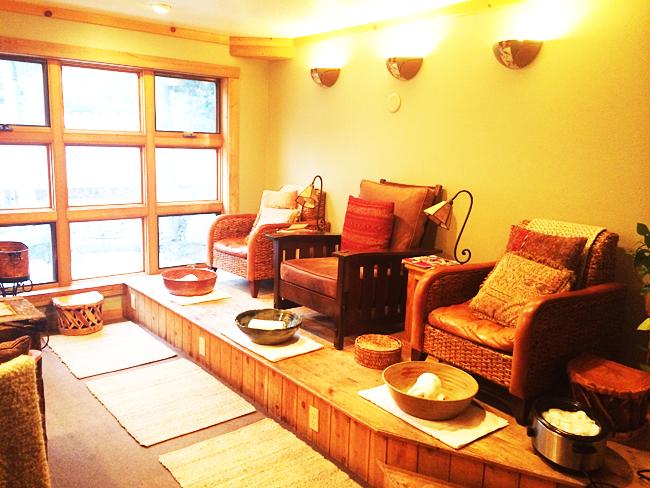 The spa at Sundance Mountain Resort