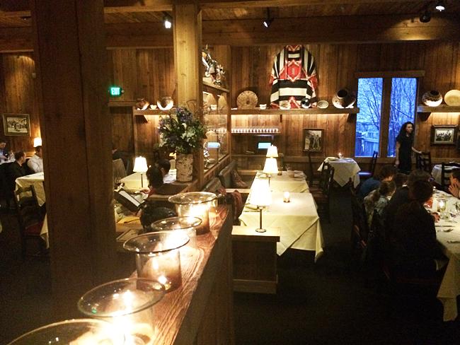The Tree Room at Sundance Mountain Resort