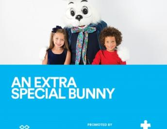 Pictures with the Easter Bunny for Special Needs Children