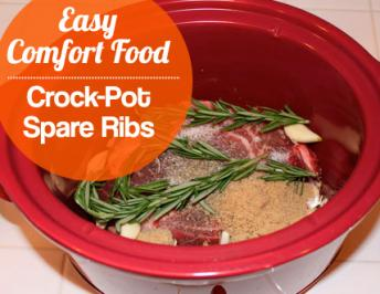 Easy Braised Spare Ribs – Crock Pot Recipes