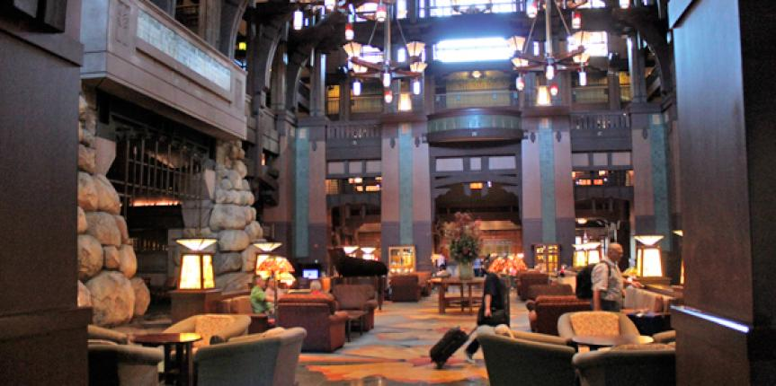 Disneyland Grand Californian – Relaxation, Disney Style