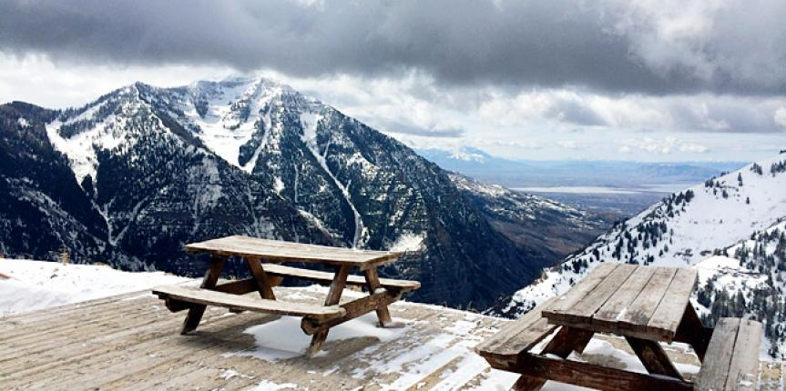 Family Skiing at Sundance Mountain Resort