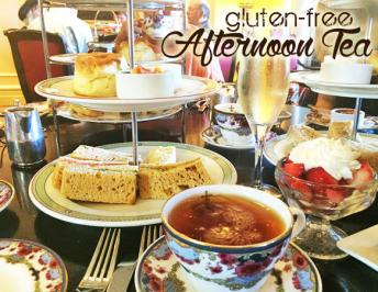 Afternoon Tea at The Fairmont Empress, Victoria : Gluten-Free and Diabetic Menus
