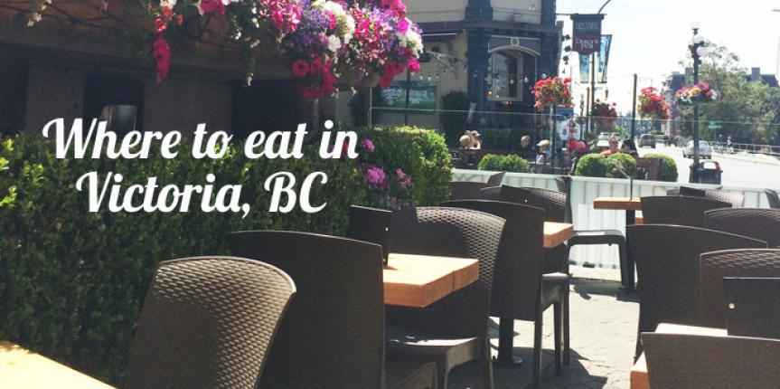 Where to Eat in Victoria, BC