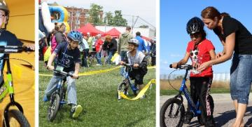 STRIDER Balance Bike for Children with Special Needs