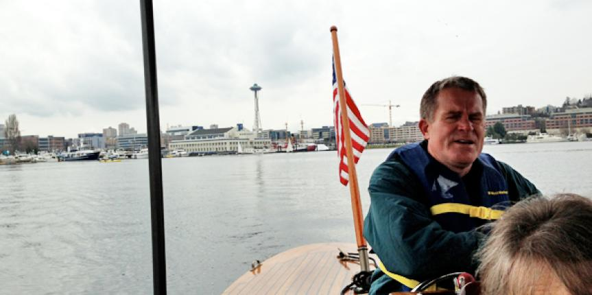 Free Things to do in Seattle – A Boat Tour of Lake Union at the Center for Wooden Boats